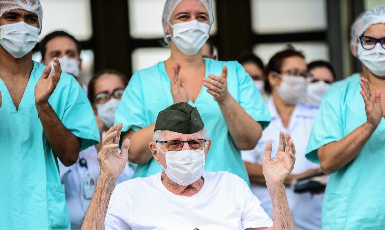Homem de 99 anos é o brasileiro mais velho a receber alta pós covid-19