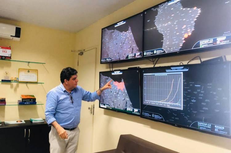 Ceará tem 221 mortes por coronavírus e 3.682 casos confirmados