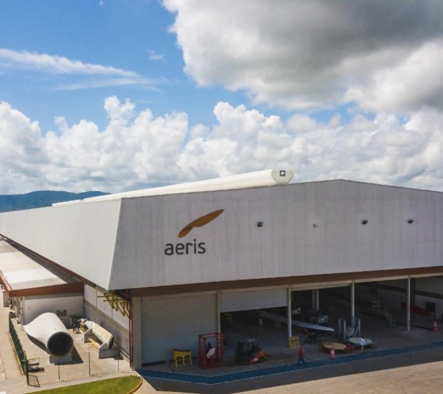 Aeris, fábrica de pás eólicas no Pecém, abre 142 vagas de emprego