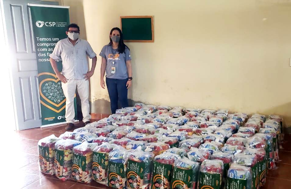 Companhia Siderúrgica do Pecém doa 690 cestas básicas para São Gonçalo e Caucaia